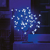 45cm/18in Cherry Blossom Tree with 40 Electric Blue LEDs
