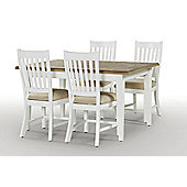 Rowico Lulworth 5 Piece Dining Collection