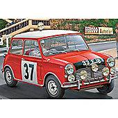 Revell Mini Cooper Rallye Monte Carlo Winner 1964 1:24 Model Car Kit - 07064
