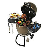 Broil King Steel Keg BKK4000 Charcoal Grill for Convection-Style Cooking