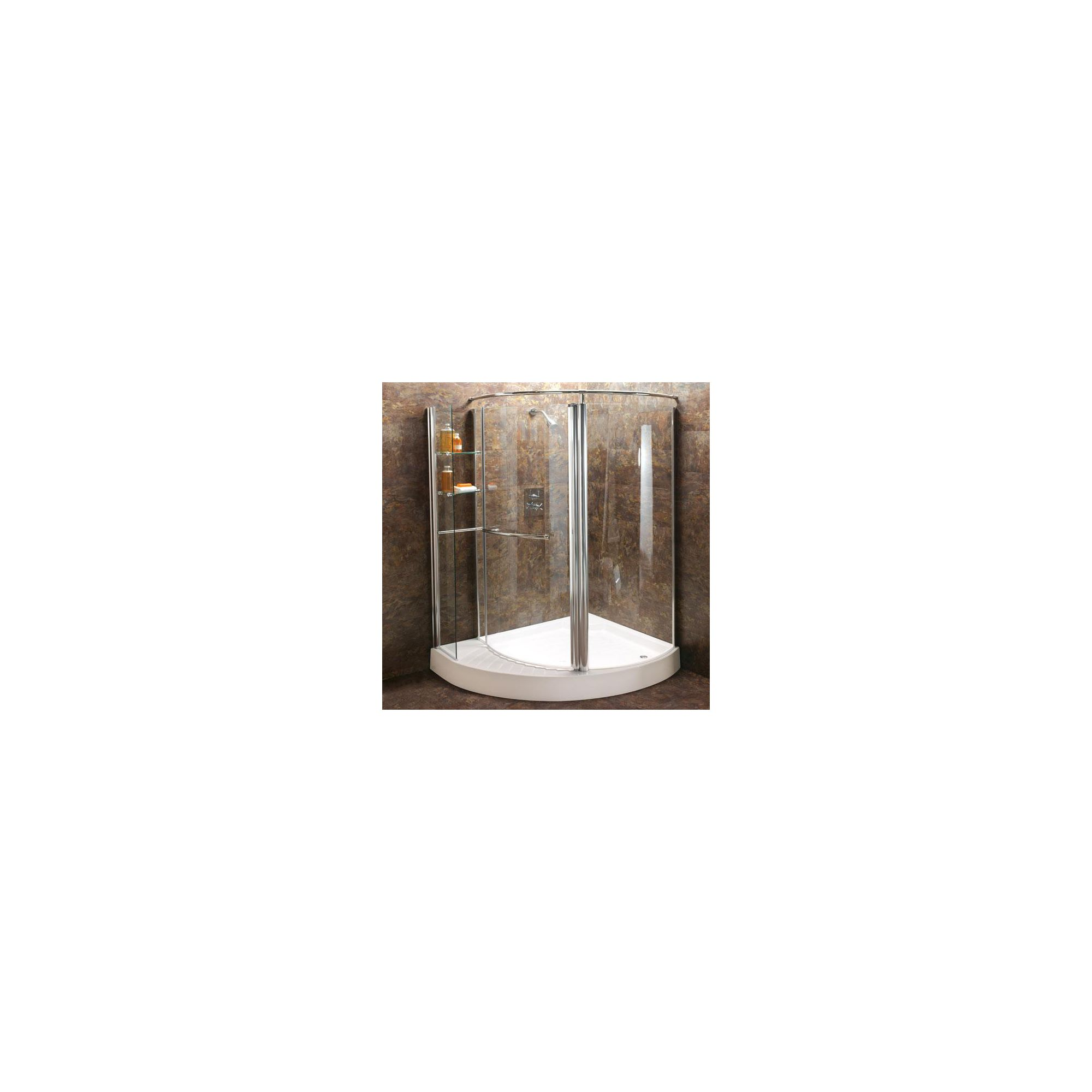 Balterley Offset Quadrant Shower Door, 1250mm x 1000mm Wide, Right Handed, 6mm Glass at Tesco Direct