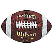 Wilson Nfl Junior Micro Official American Football Soft Grip Game Ball