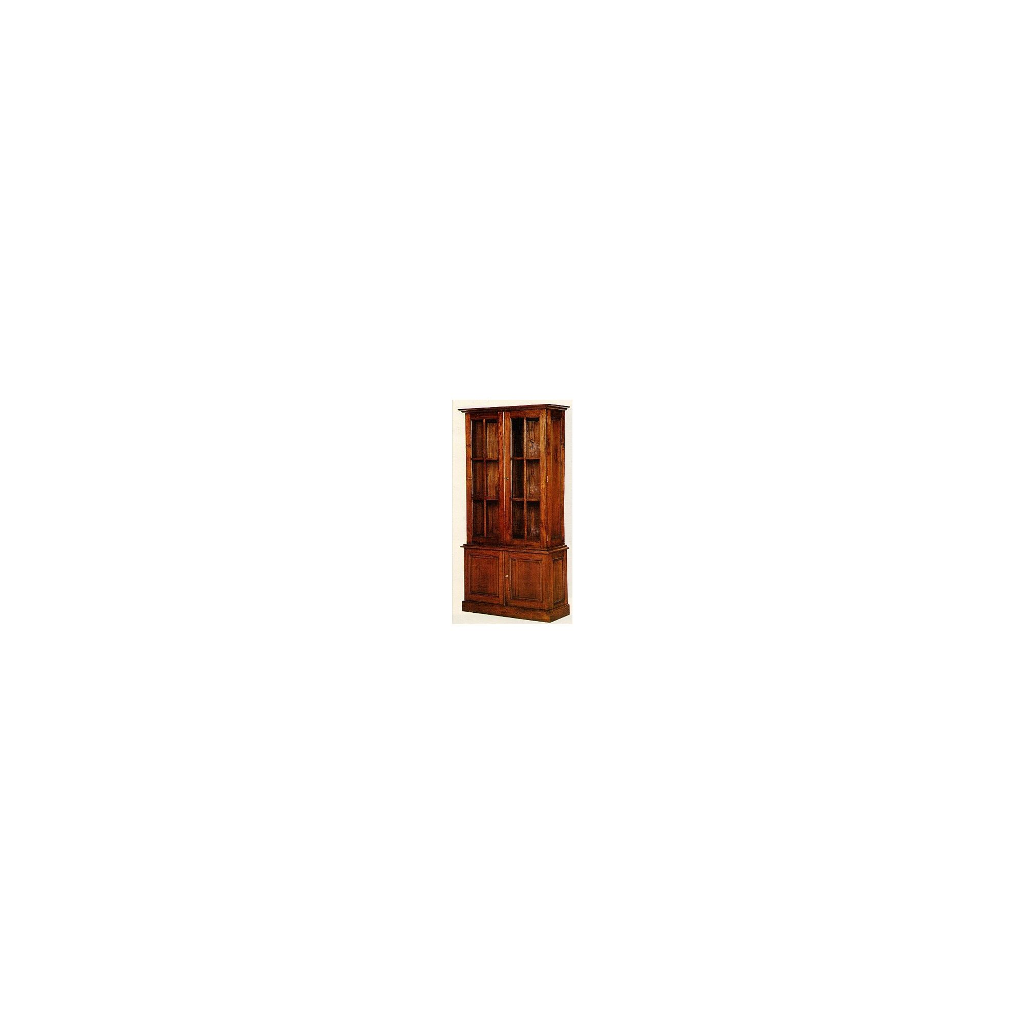 Anderson Bradshaw Victorian Tall Glazed Bookcase in Mahogany at Tesco Direct