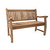 Charnwood Teak Bench 120cm