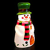 3ft 6in Illuminated Moulded Snowman