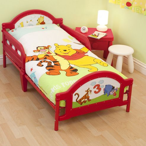 Character World Toddler Bed, Winnie The Pooh