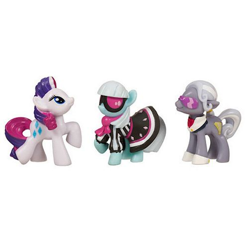 My Little Pony Mini Three Pack - Famous Friends Set