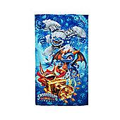 Skylanders Giants Blue Printed Beach Towel