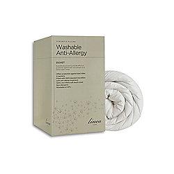 Linea Washable Anti Allergy 4.5 Tog King Duvet In White