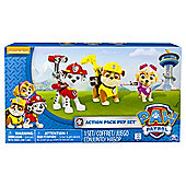 Paw Patrol Action Pups 3Pk Marsh/Sky/Rubble