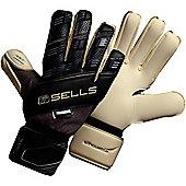 Sells Silhouette Elite Exosphere Goalkeeper Gloves - Black