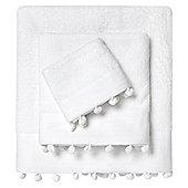 Minihome - Perle Towel - White