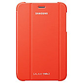"Samsung Galaxy Tab 2 Book Cover Case  10.1"" Orange"