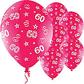 11' Birthday Perfection 60 Fuchsia (25pk)