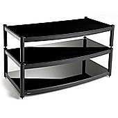 Atacama 3 Shelf TV Stand for up to 60 inch in Black