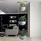 Emporium Positive Design Eebavoglio Triple Flower Tray - Green