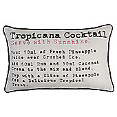 Tesco Cocktail Cushion
