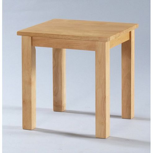 buy furniture link adeline end table in rubberwood from our side