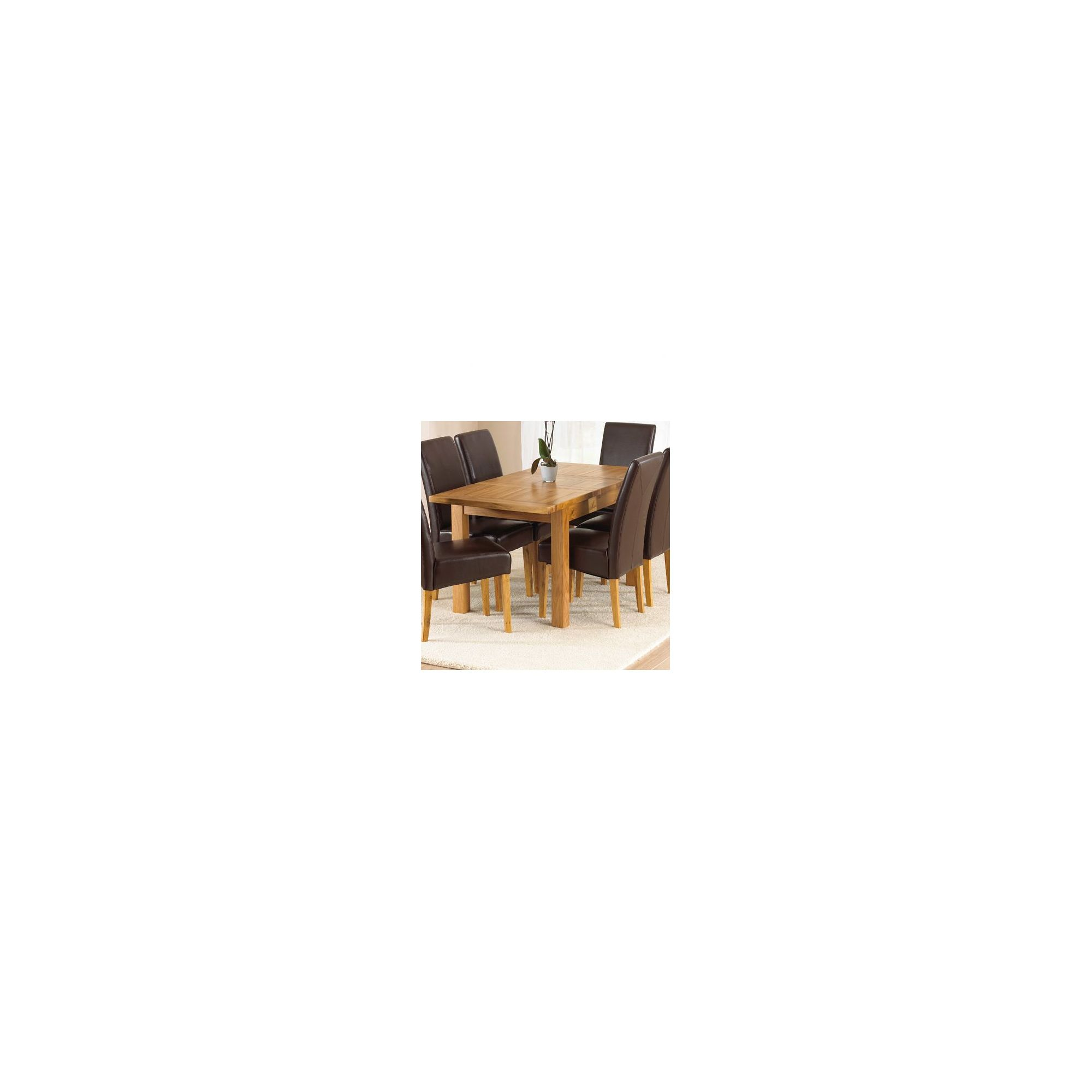 Mark Harris Furniture Rustique Classical Solid Oak Dining Table - 150 cm