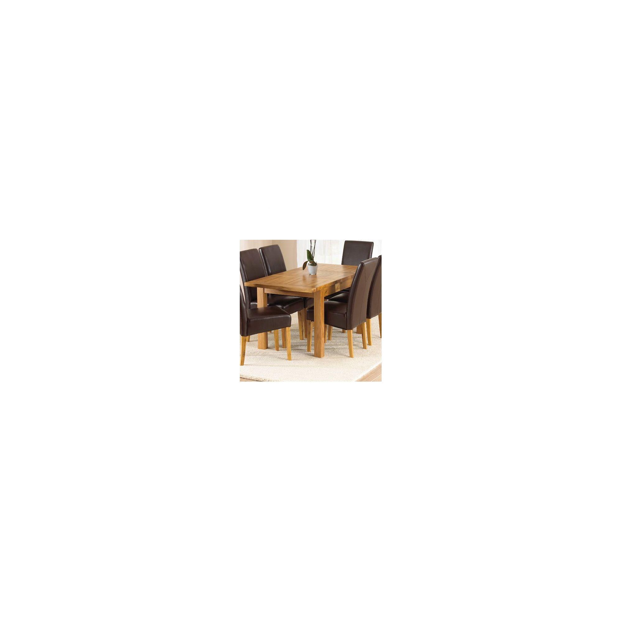 Mark Harris Furniture Rustique Classical Solid Oak Dining Table - 150 cm