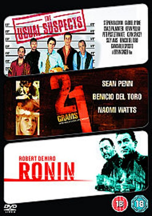 21 Grams/Ronin/The Usual Suspects (DVD Boxset)