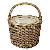 Wicker Valley Round Chiller Basket