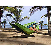 Amazonas Silk Traveller Forest Outdoor Hammock in Green-Green