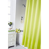 Home Creations Waterline Dyed Shower Curtain - Lime