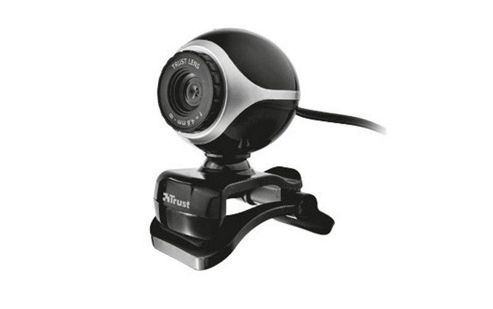 Trust Exis Webcam (Black/Silver)