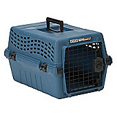 Petmate Small Deluxe Vari Jr. Dog Kennel in Peacock Blue