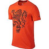 2014-15 Holland Nike Core Plus Tee (Orange) - Orange