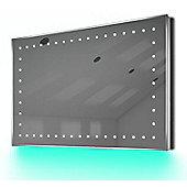 Ambient Shaver LED Bathroom Illuminated Mirror With Demister Pad & Sensor K171T
