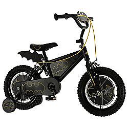 "Batman 14"" Kids' Bike with Stabilisers"