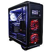 Cube Oblivion Gaming PC i7k Skylake with Asus Geforce GTX 980 Strix GPU CU-ObliI7K6700WIN10 Intel i7 6700K 4.0Ghz Corsair H110i Liquid Cooler Desktop