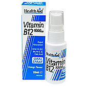 Health Aid Vitamin B12 20ml Spray