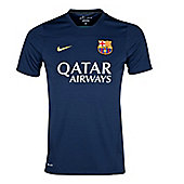 2013-14 Barcelona Nike Training Jersey (Navy) - Kids - Navy
