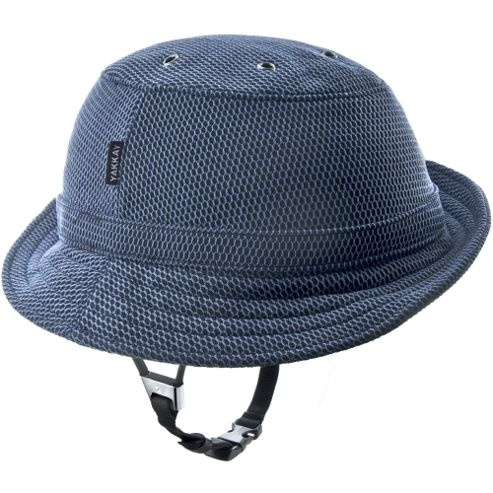 YAKKAY Tokyo Blue Technic Helmet Cover: Medium (55-57cm).