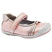 Feet Street Girls Petunium Pink Ballerina Shoes