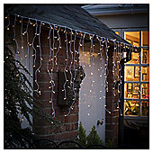 Tesco 360 Outdoor Bright White Icicle Lights