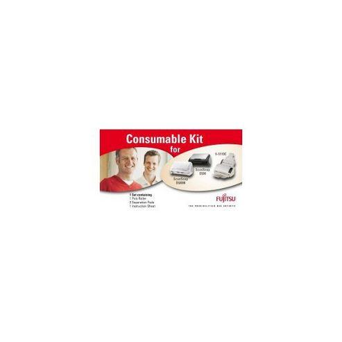 Fujitsu Consumable Kit (Yield 400,000 Scans) for Fujitsu Fi-6140/fi-6240/6130/6230 Scanners