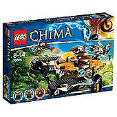 LEGO Legends of Chima Lavals Fighter 70005
