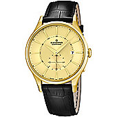 Candino Mens Black Leather Date Watch C4559/2