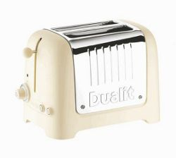 Dualit 25-804 2 Slice Toaster - Cream
