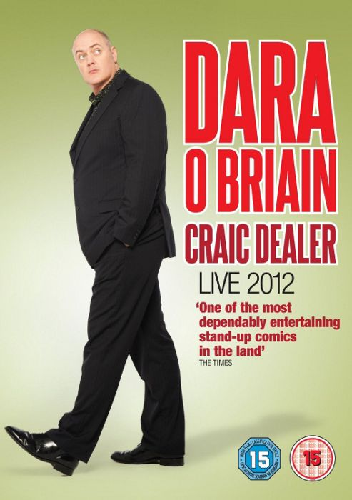 Dara O'Briain - Craic Dealer Live (DVD)