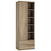Contra 1 Door 2 Drawer Tall Cabinet With Shelves