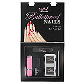 Pretty Professional Bulletproof Nails One Step Gel Polish Starter Kit-Purple Burst