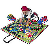 Alex Road 2 in 1 Play Mat and Toy Bag