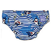 Bambino Mio Swim Nappy - Large Blue Shark 9-12kg