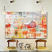 Parvez Taj Barn Wall Art - 61 cm H x 91 cm W x 5 cm D