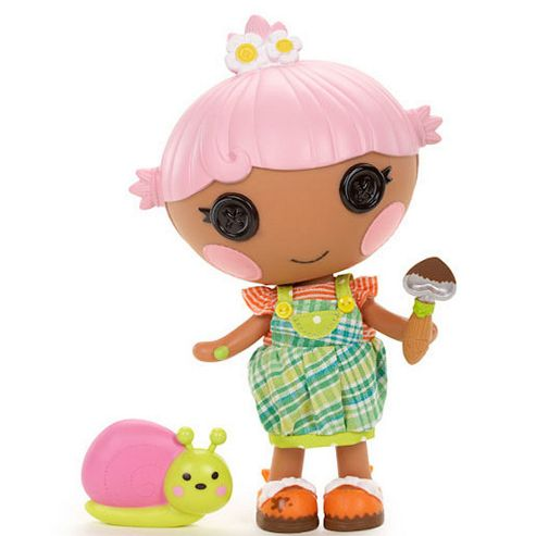 MGA Entertainment Lalaloopsy Littles Petal Flowerpot Doll
